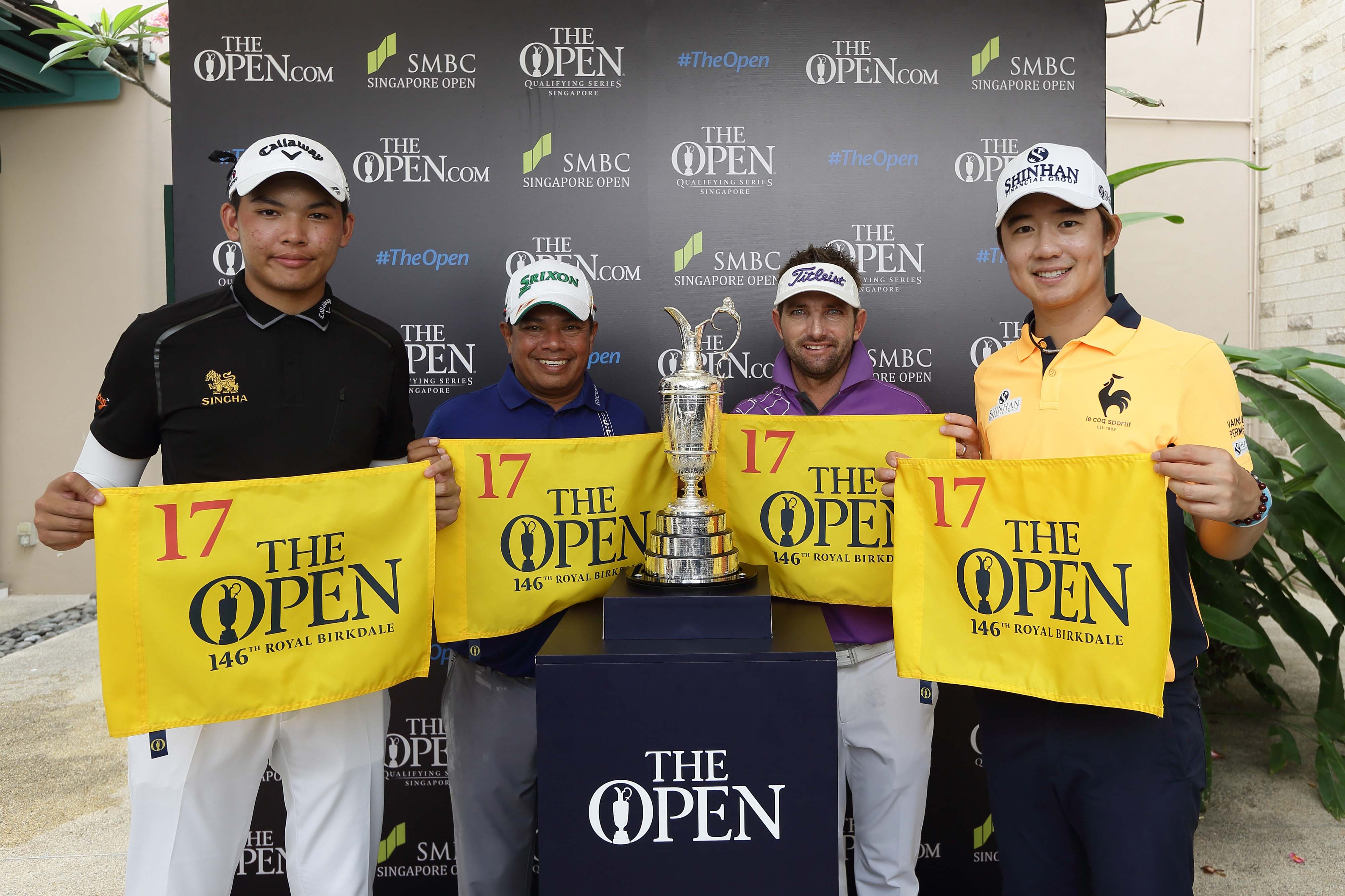 Qualifiers for The Open