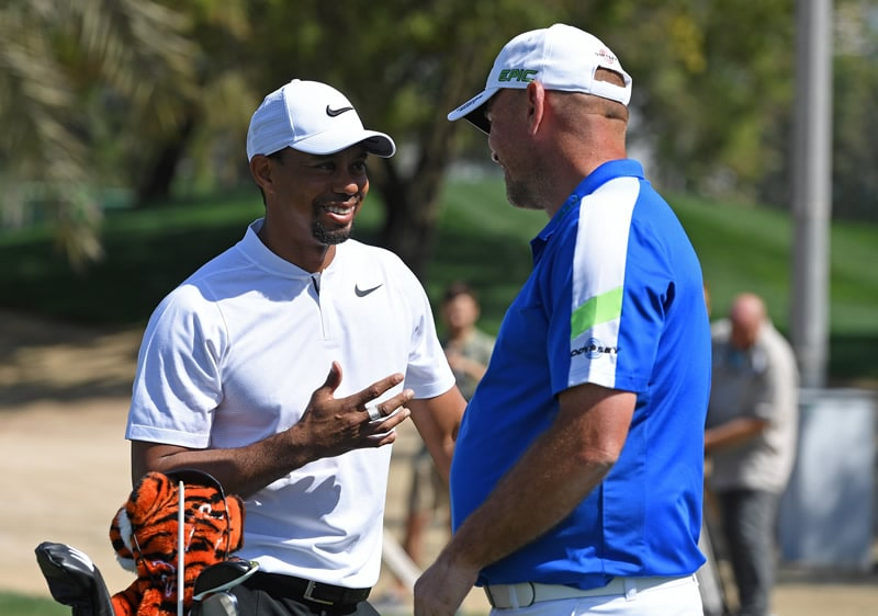Tiger Woods, Thomas Bjorn