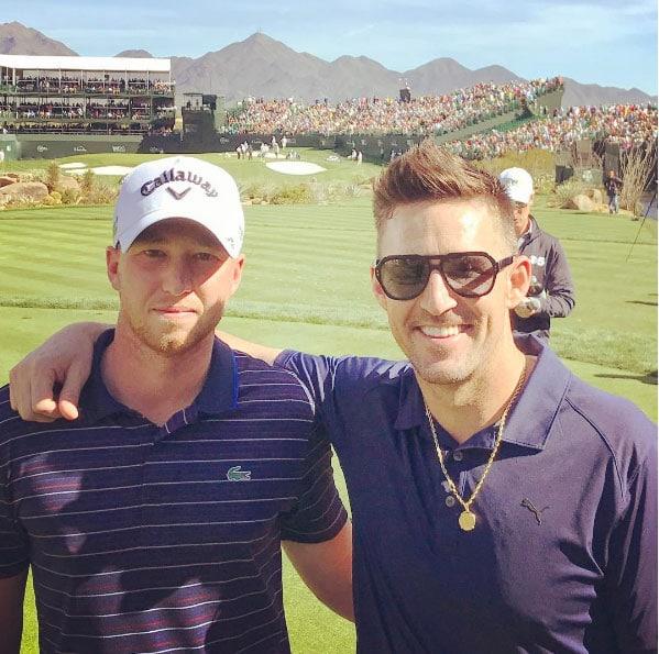 Daniel Berger and Jake Owen