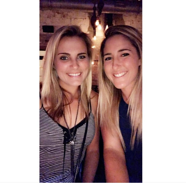 Lexi Thompson and Jaye Marie Green