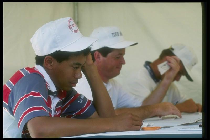 Tiger Woods, Dicky Thompson, Bob Friend
