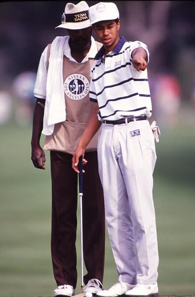 Ron 'Graphite' Matthews, Tiger Woods