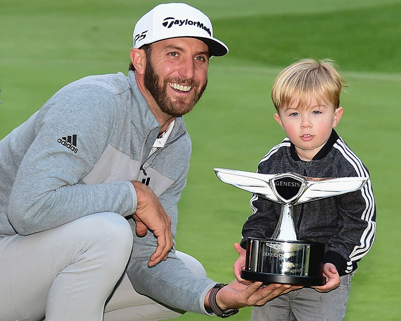 Genesis Open: Dustin Johnson