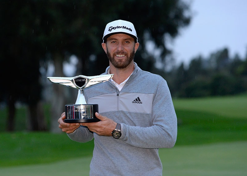 Dustin Johnson - Feb. 19, 2017