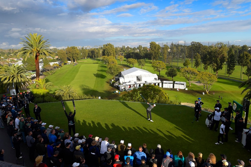 First tee at Riviera