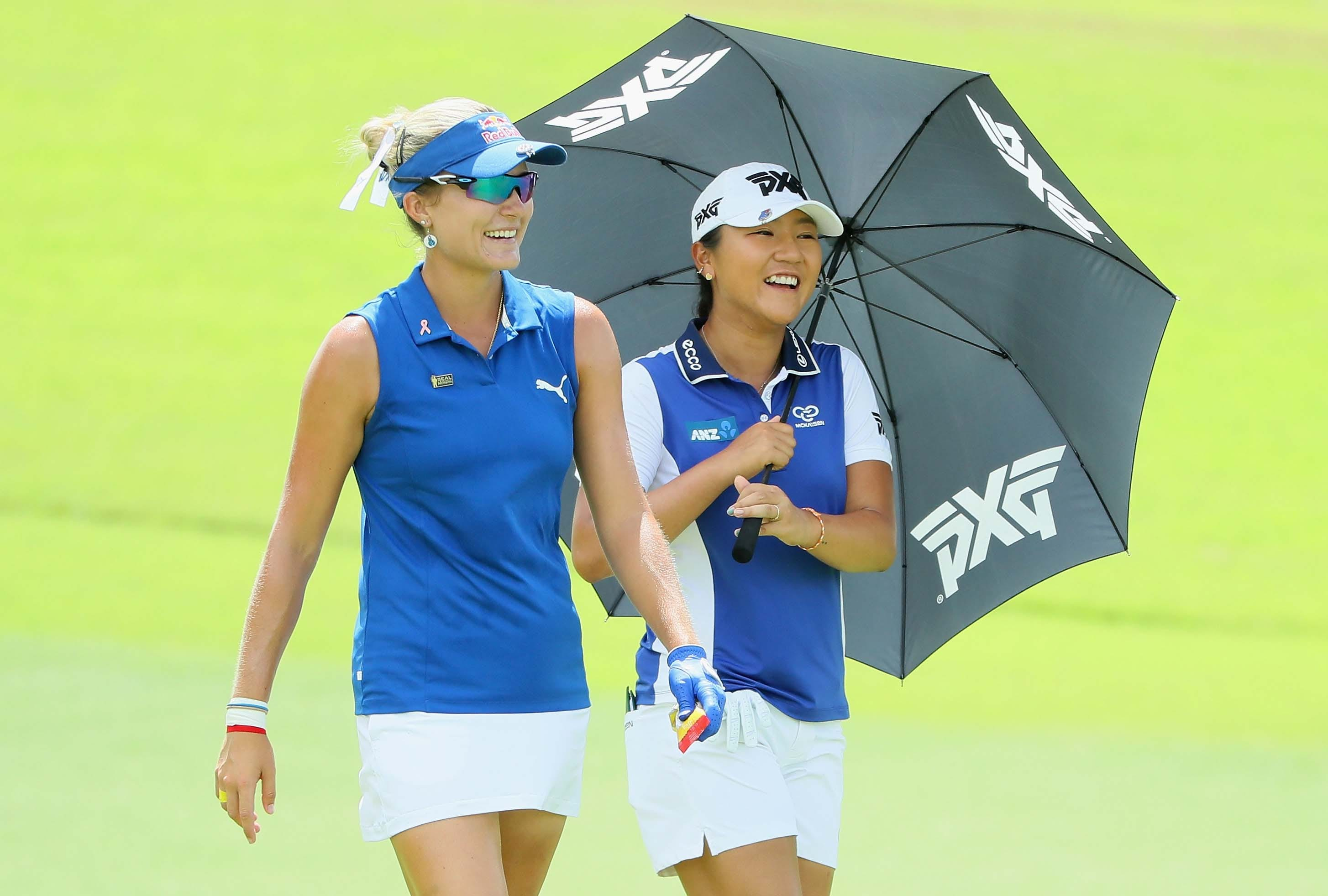 Lexi Thompson and Lydia Ko