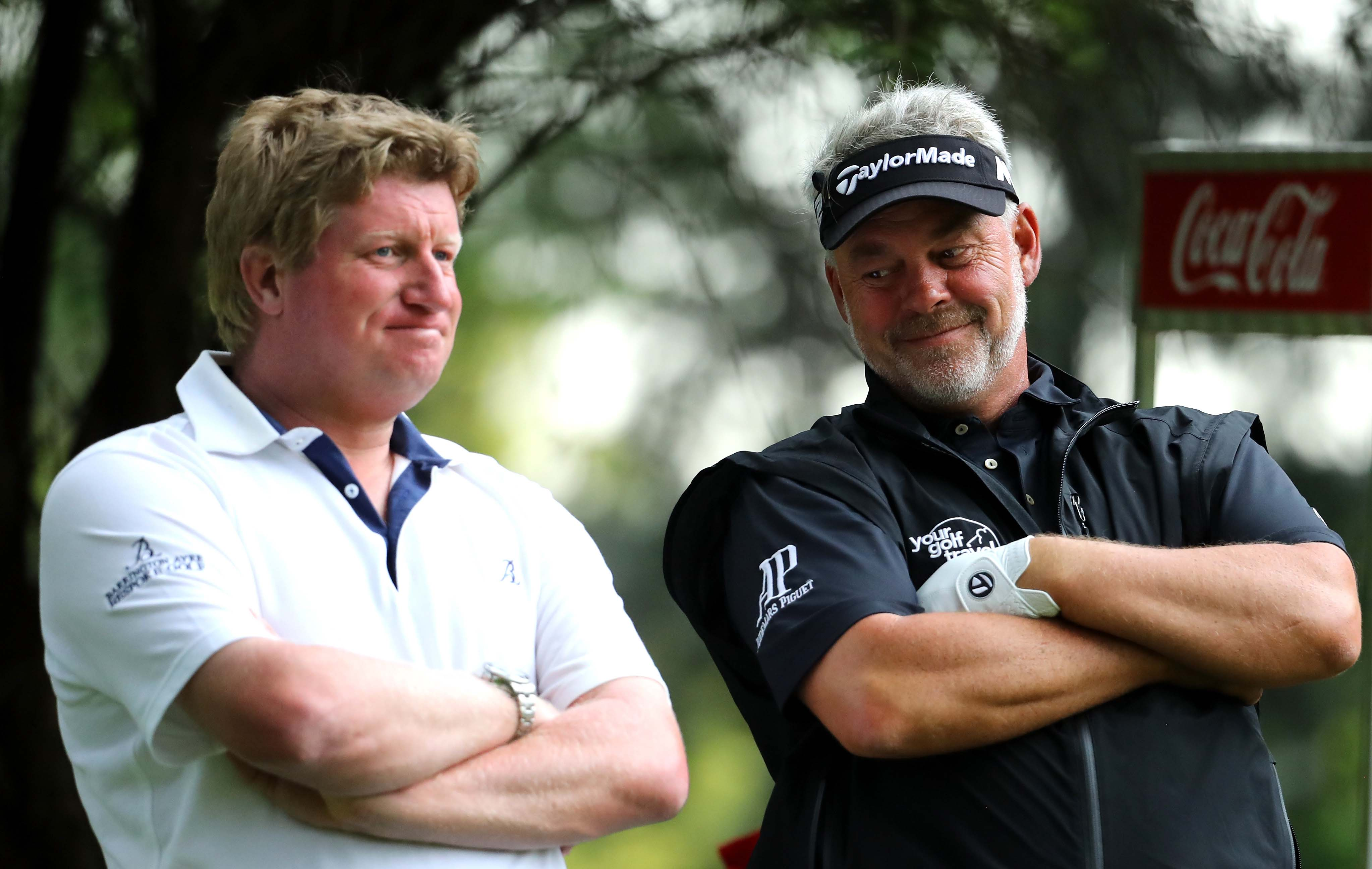 Richard Finch and Darren Clarke