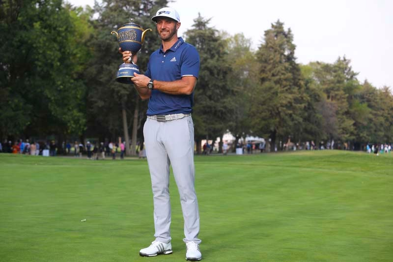 WGC-Mexico Championship: Dustin Johnson