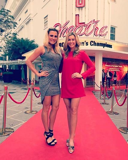 Lexi Thompson and Paula Creamer