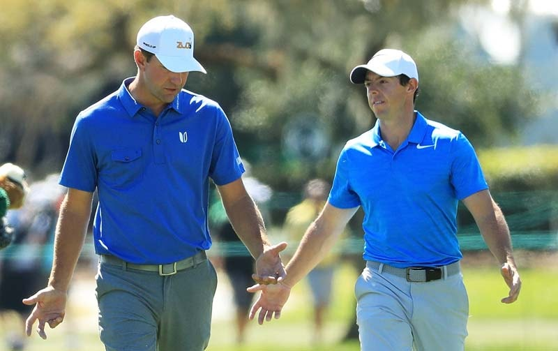 Lucas Glover and Rory McIlroy