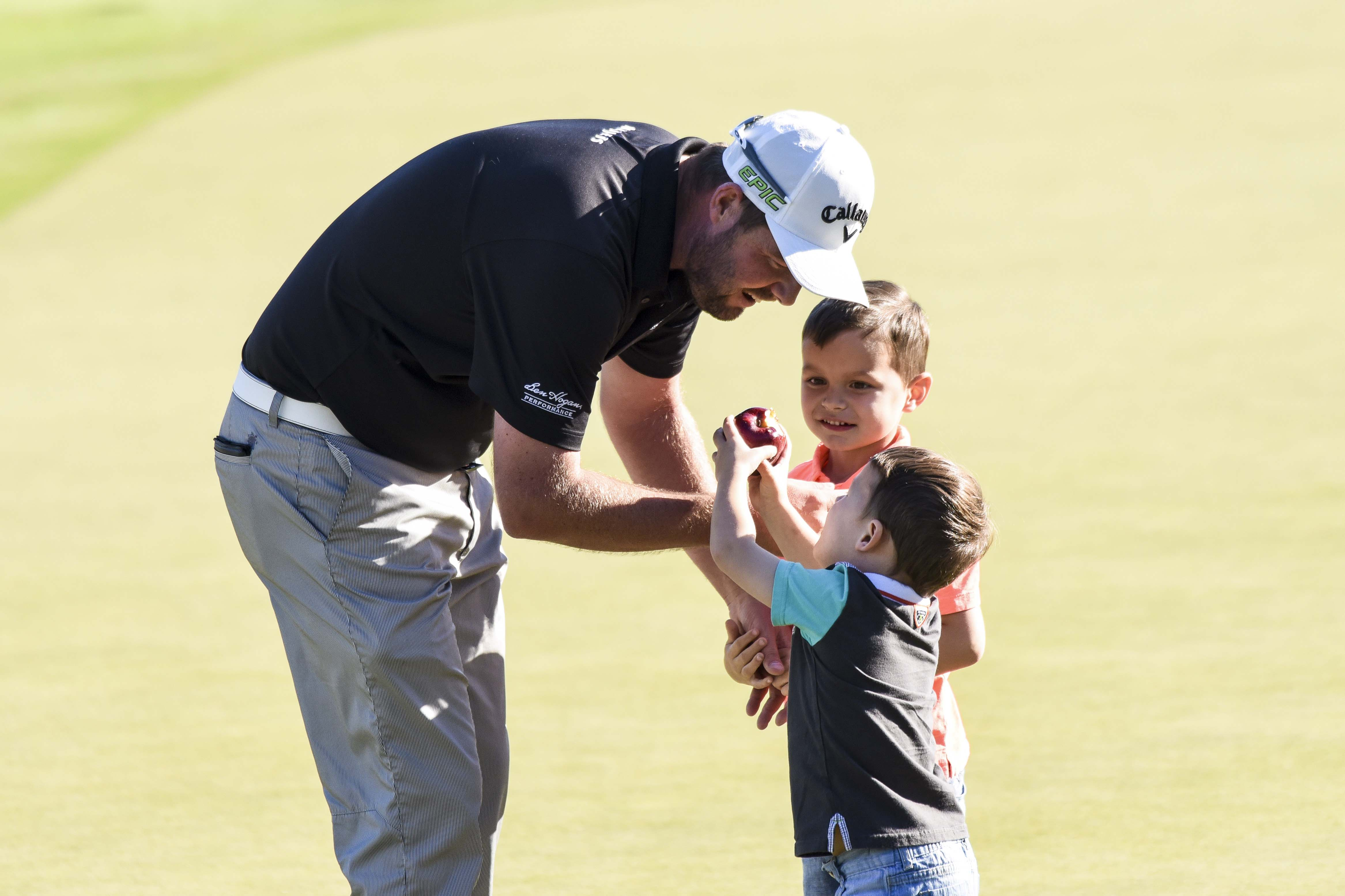 Marc Leishman and sons