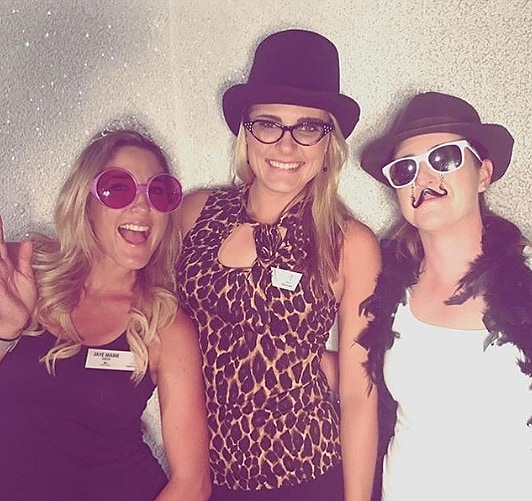 Lexi Thompson, Jaye Marie Green and Amelia Lewis