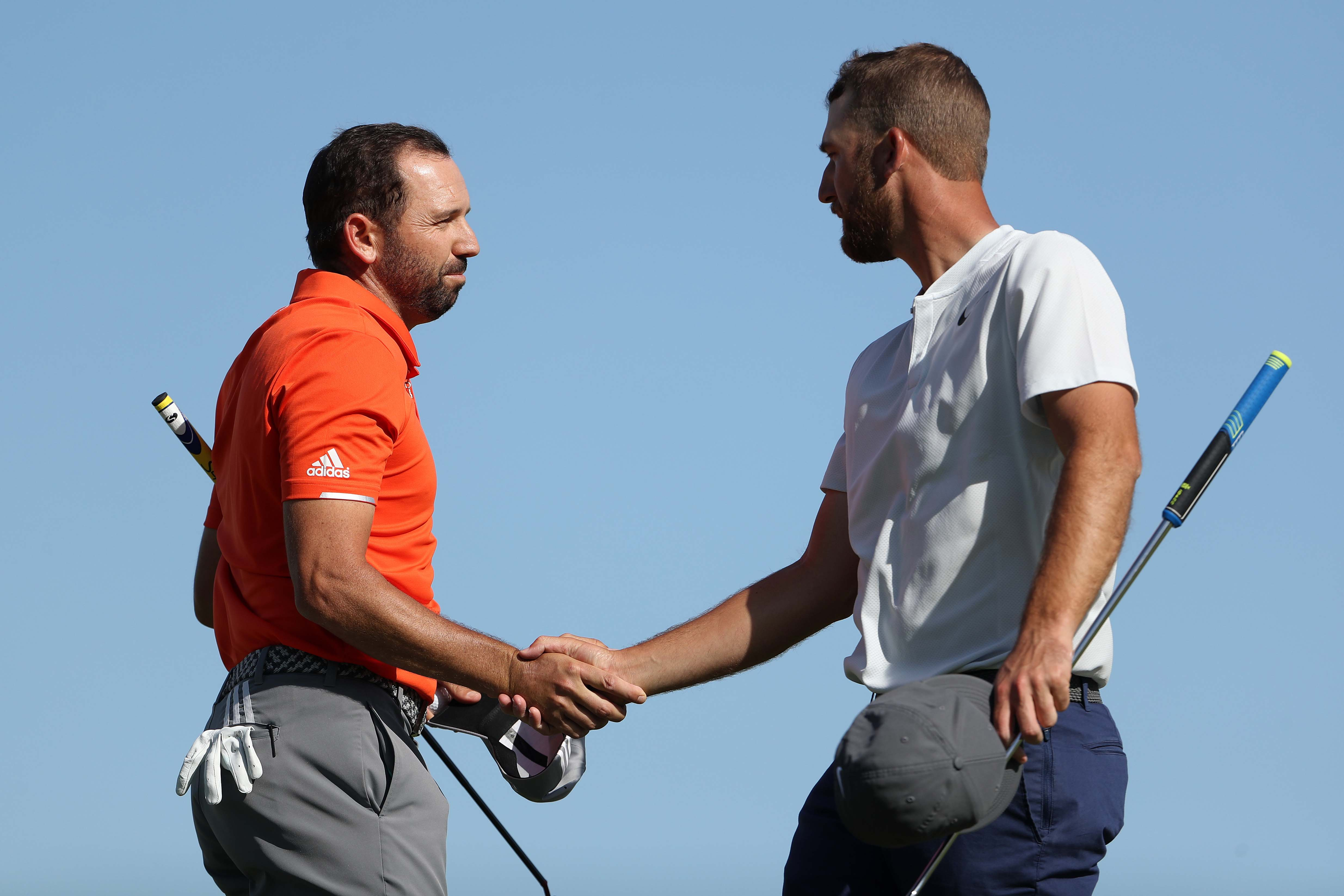 Sergio Garcia and Kevin Chappell
