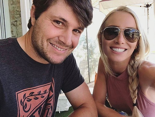 Peter Uihlein and Chelsea Gates