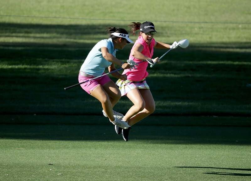 Megan Khang and Victoria Arlen
