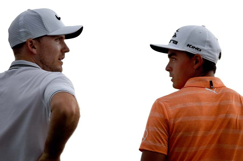 Russell Henley and Rickie Fowler