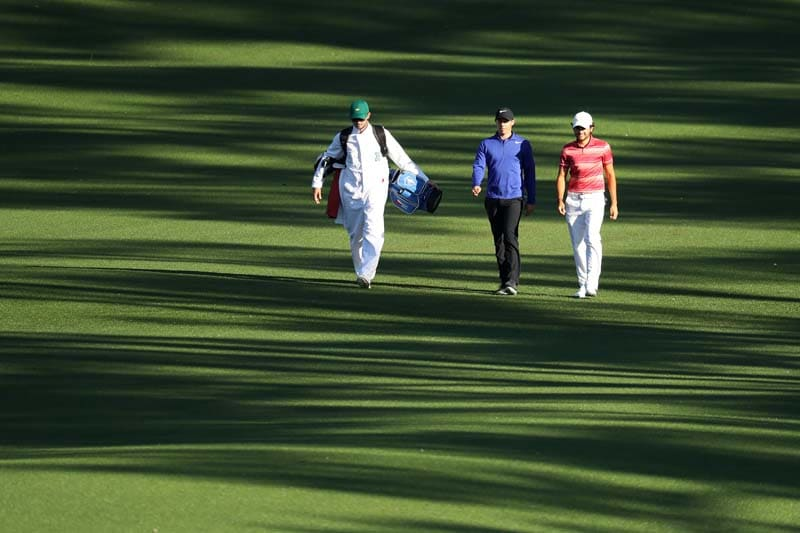 Rory McIlroy and Toto Gana