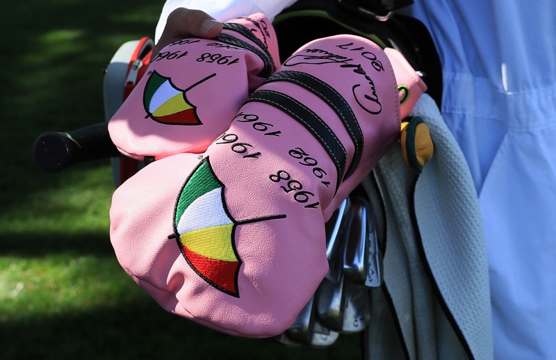 Arnold Palmer tribute headcovers