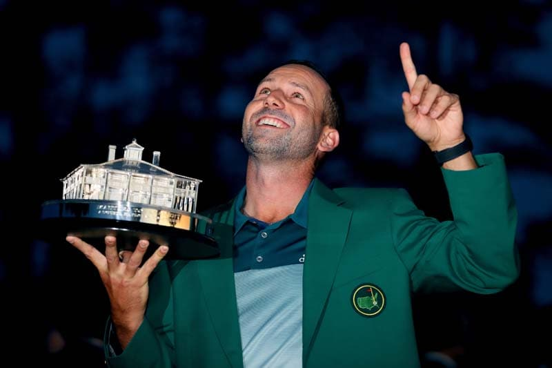 Masters Tournament: Sergio Garcia