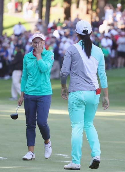 Brooke Henderson and Lydia Ko