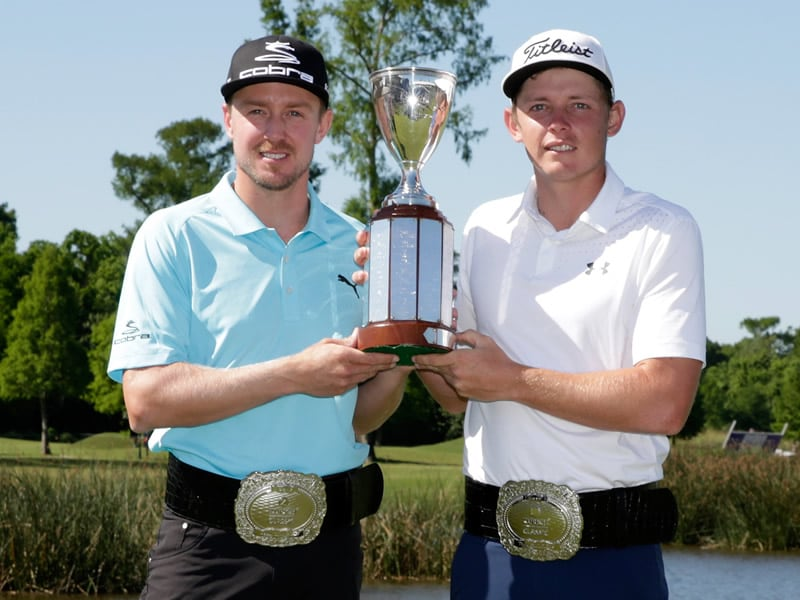 Zurich Classic of New Orleans: Jonas Blixt, Cameron Smith