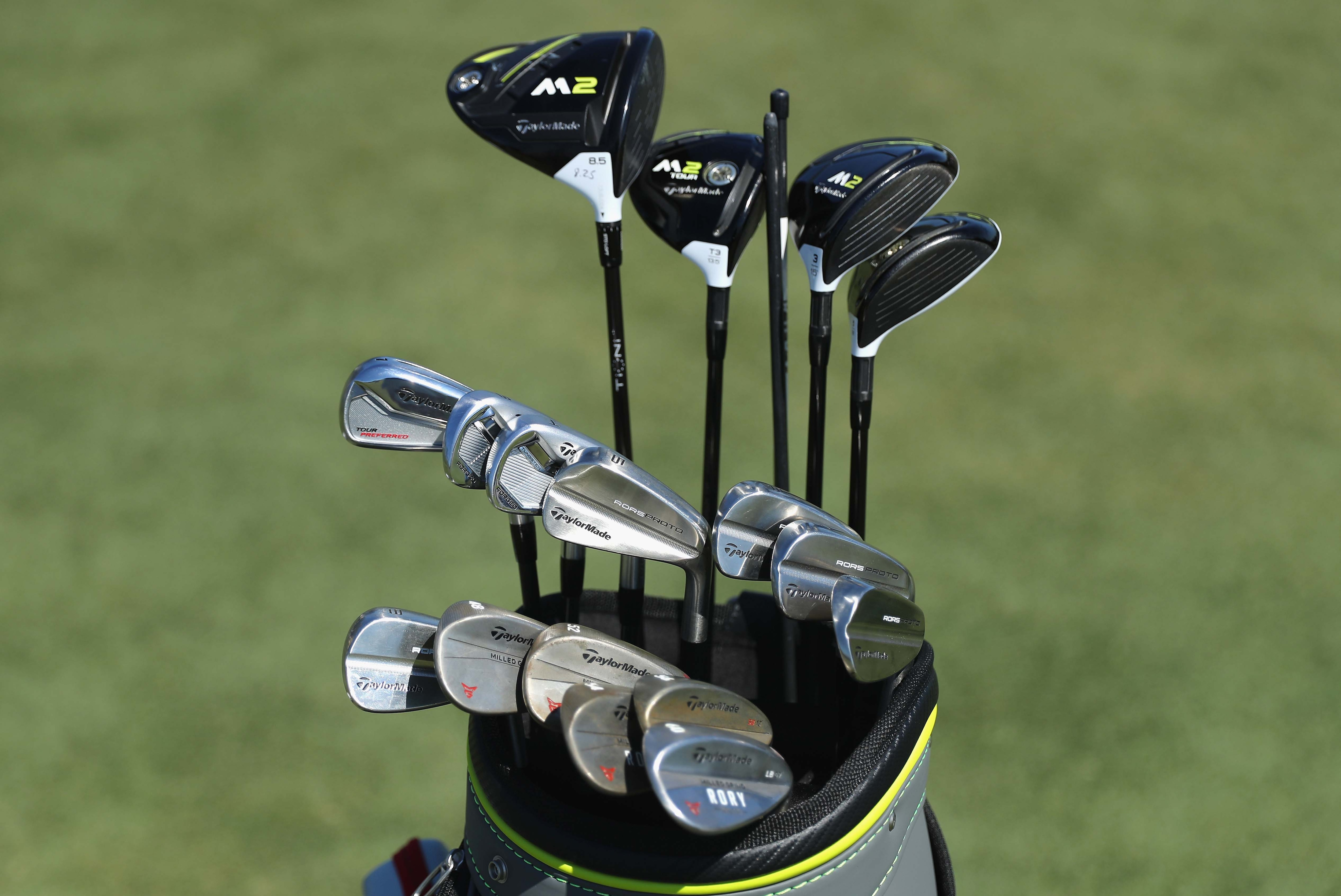 Rory McIlroy's new clubs