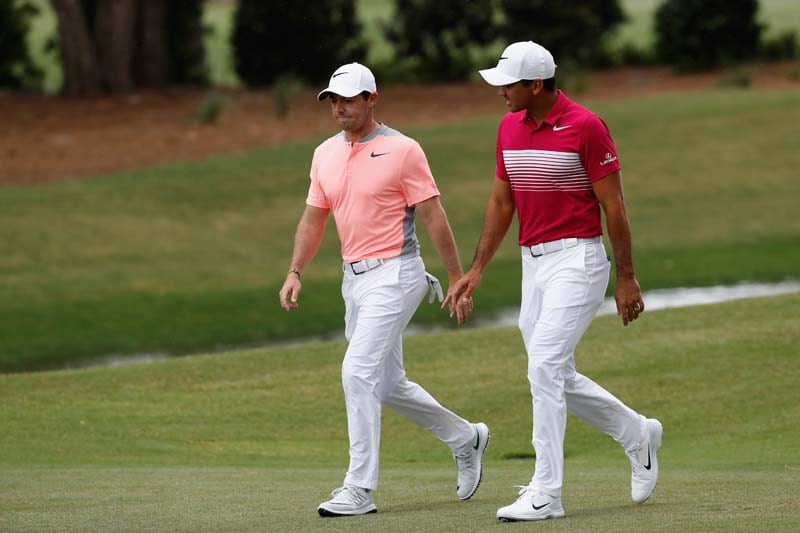 Rory McIlroy and Jason Day