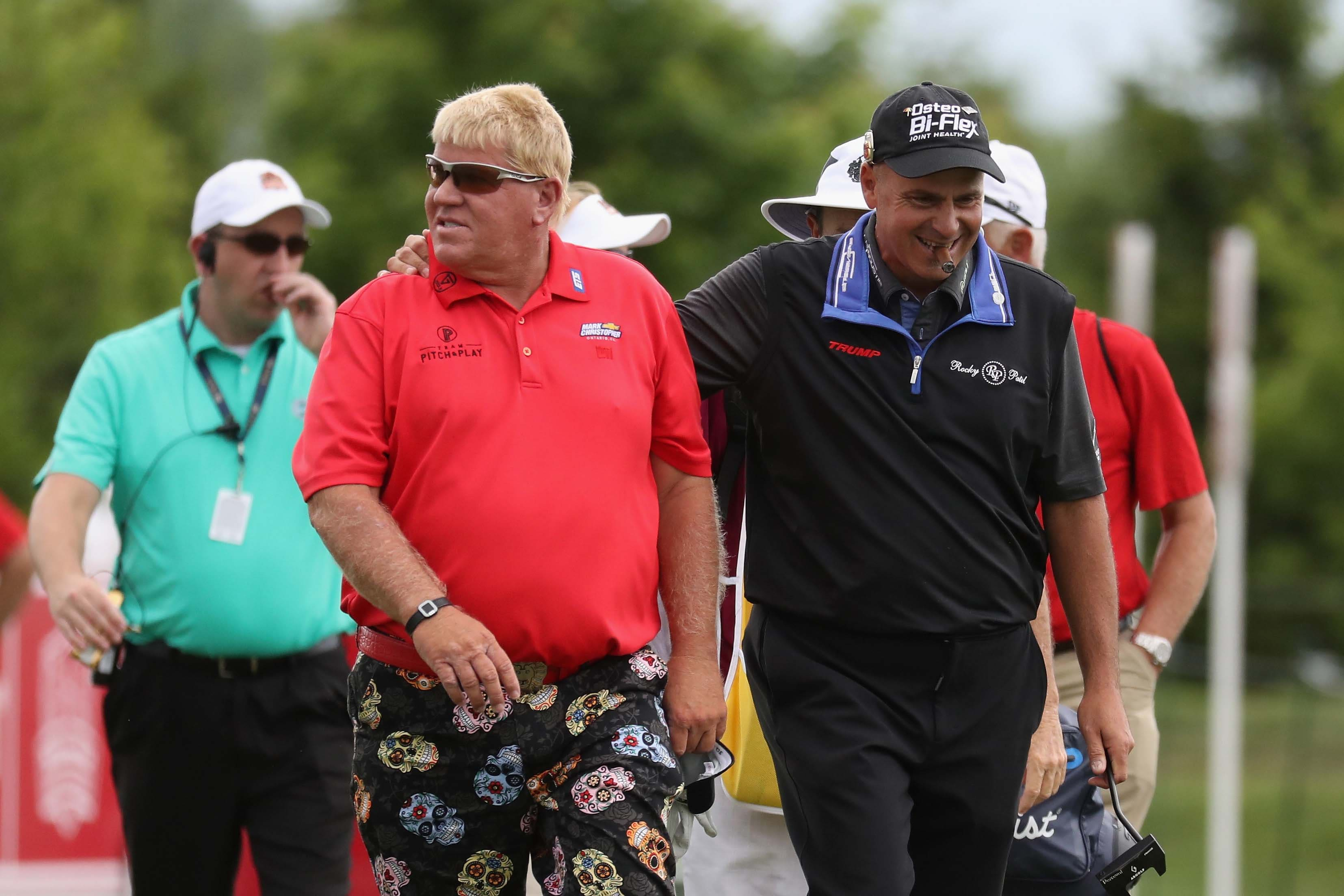 John Daly and Rocco Mediate