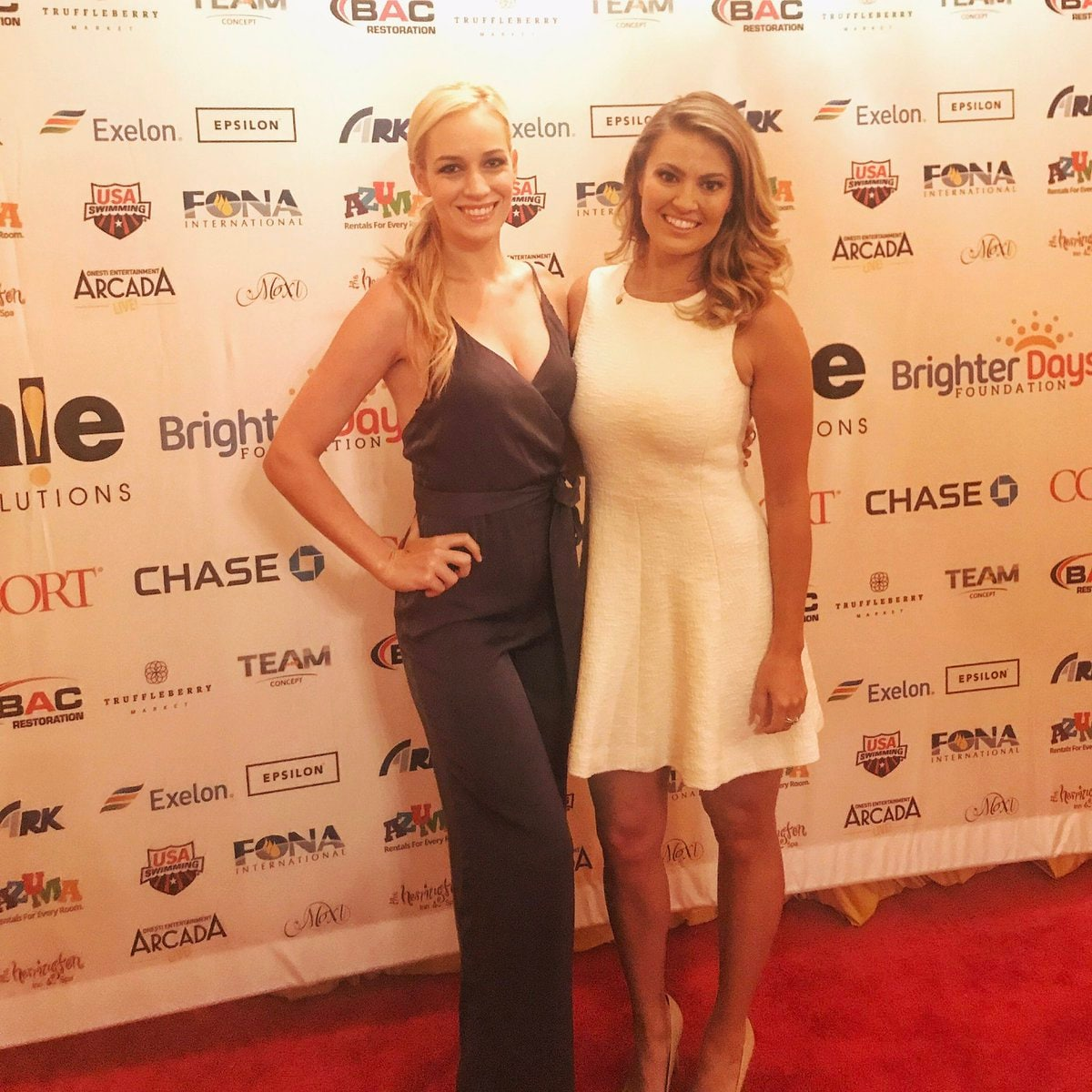 Paige Spiranac and Amanda Balionis