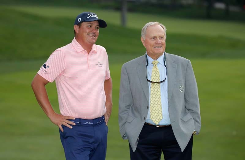 Jack Nicklaus and Jason Dufner