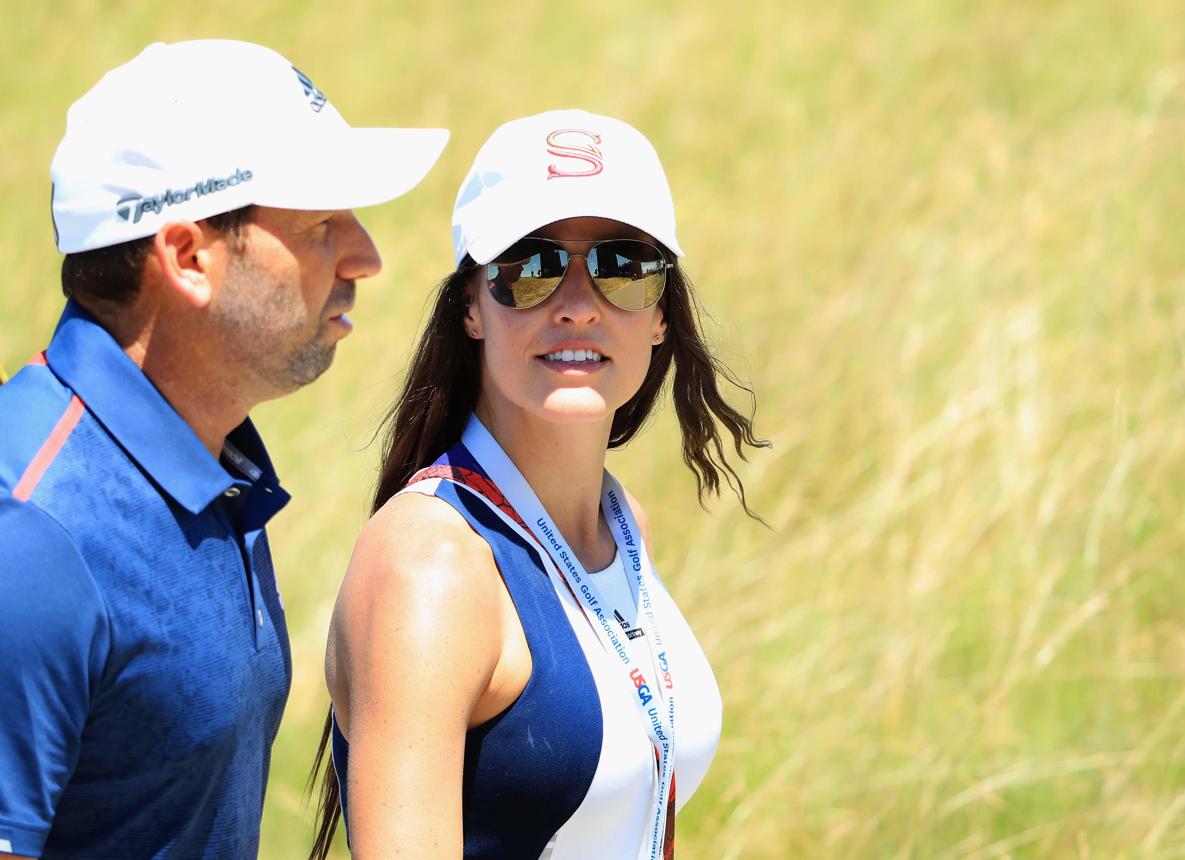 Sergio Garcia and Angela Akins