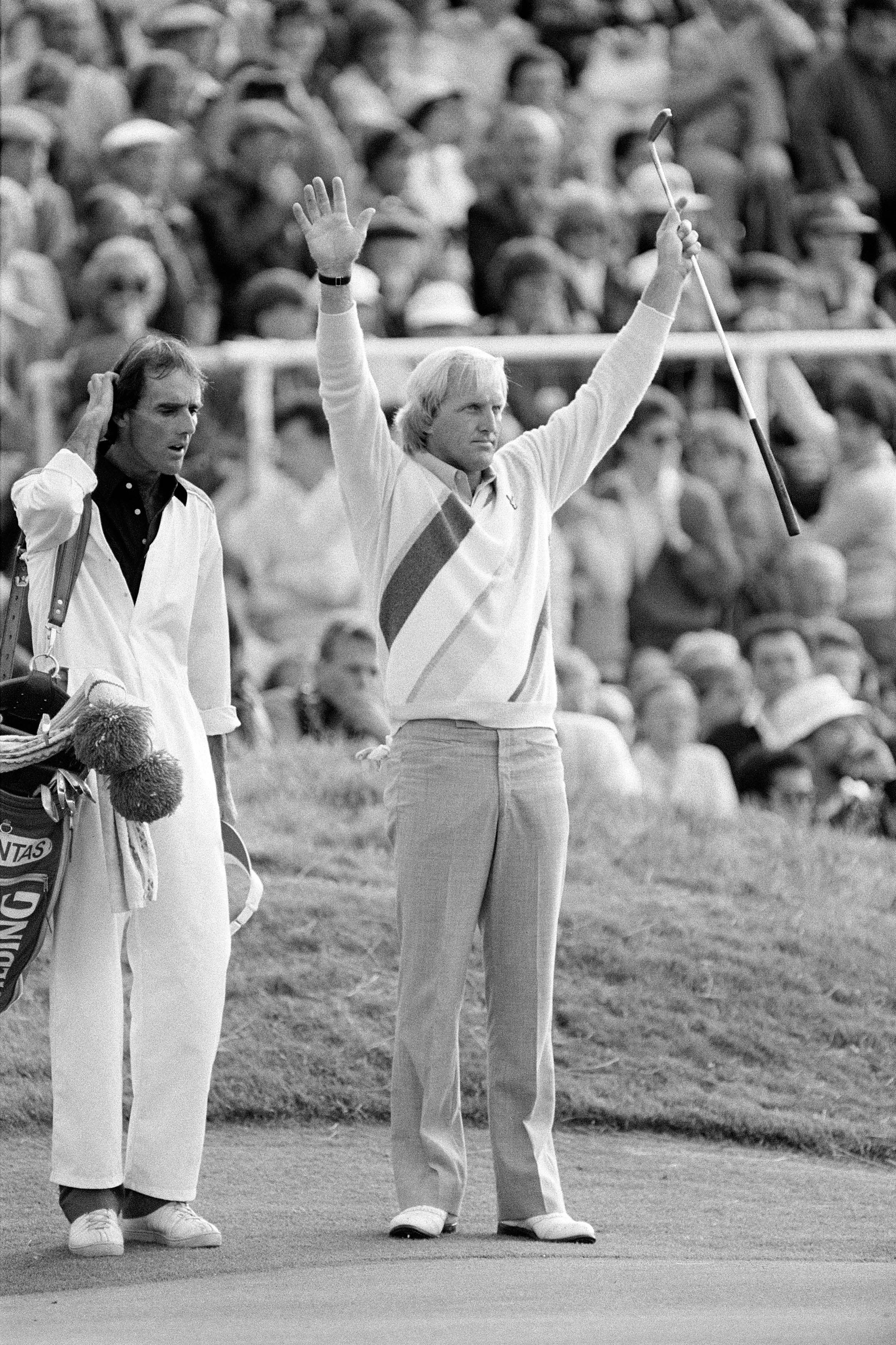 Greg Norman and Pete Bender