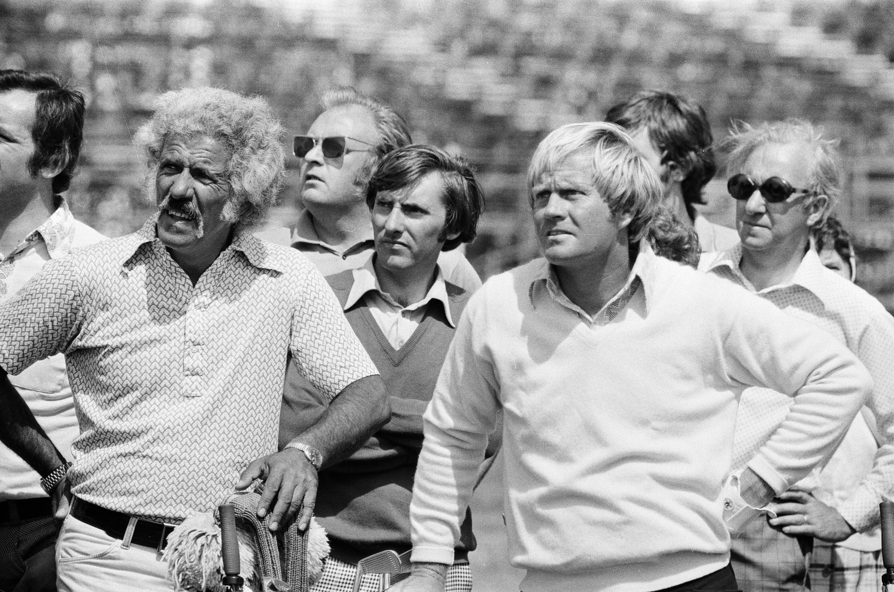 Jack Nicklaus and Angelo Argea