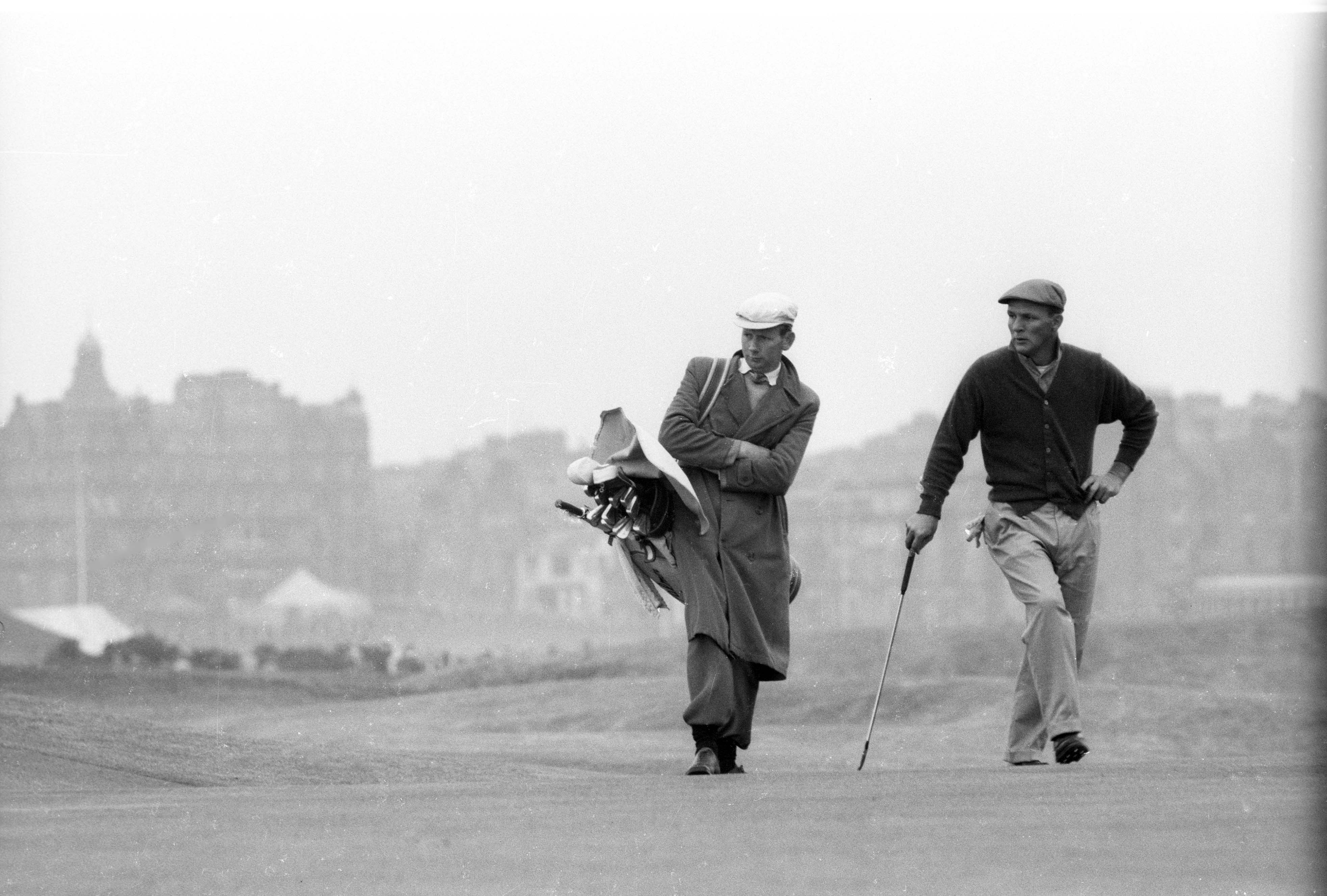 Arnold Palmer and Tip Anderson