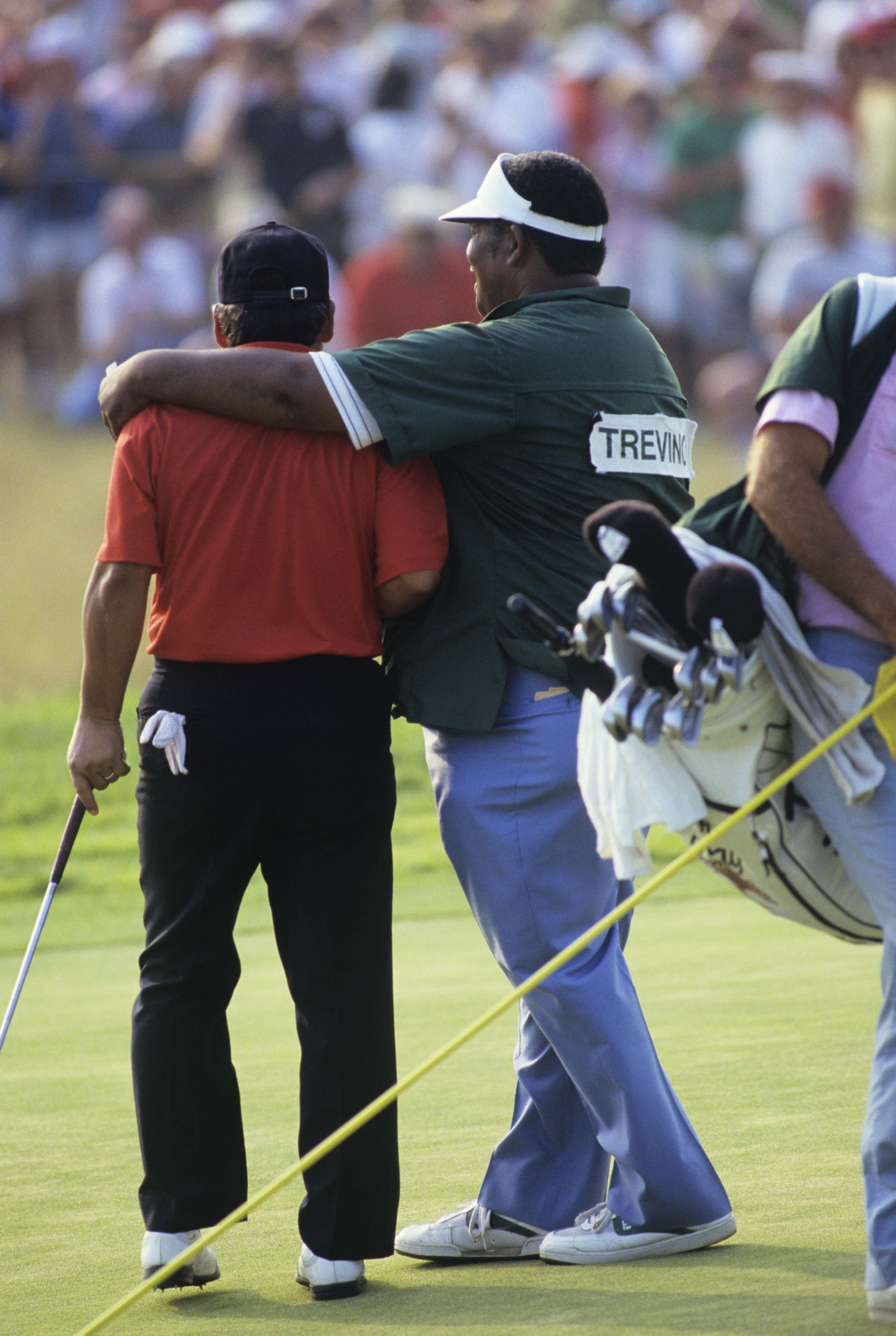 Lee Trevino and Herman Mitchell