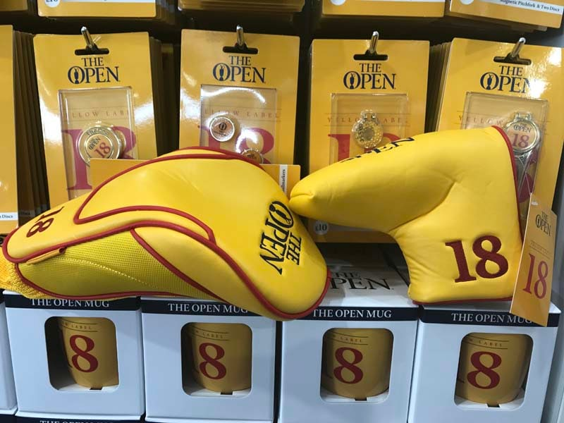 Open club head covers