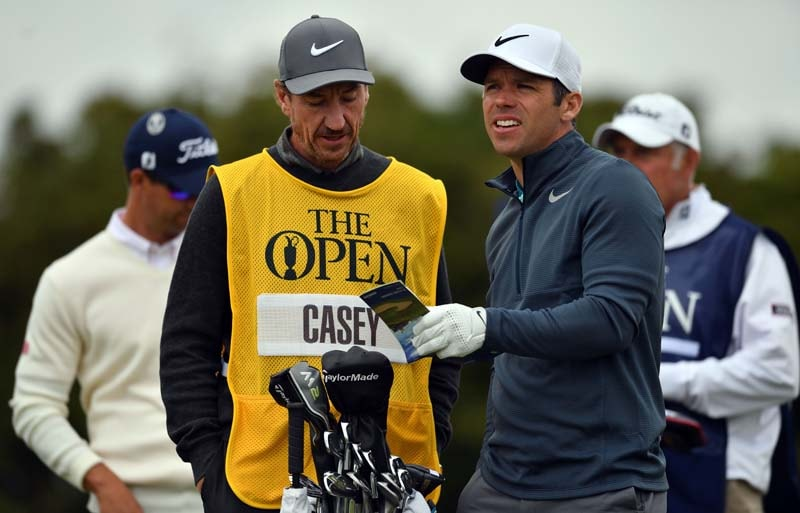 Paul Casey and John McLaren