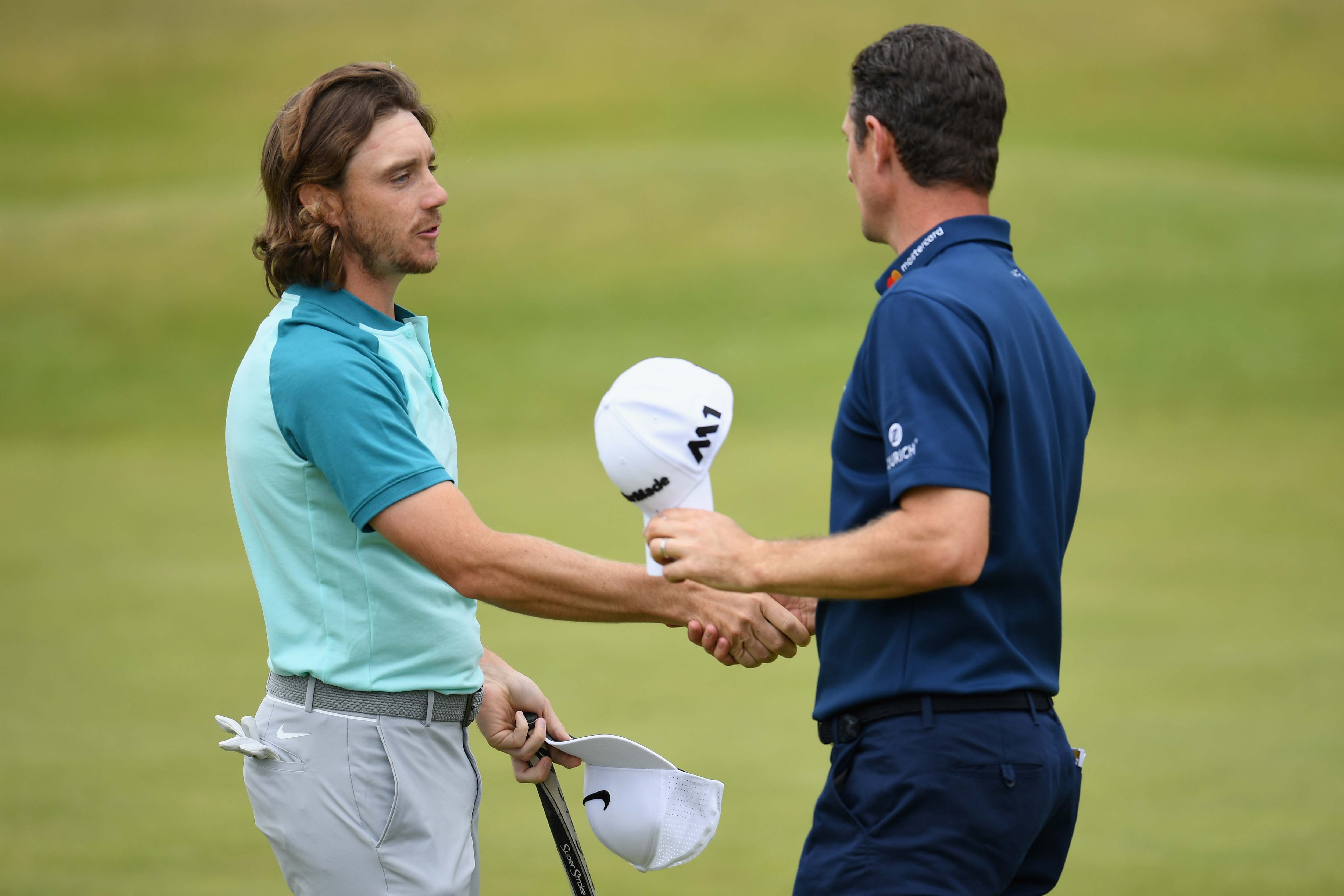 Tommy Fleetwood and Justin Rose