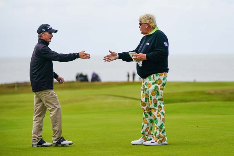 John Daly and Willie Wood