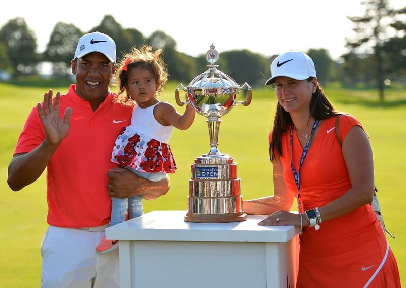 Jhonattan Vegas and his family