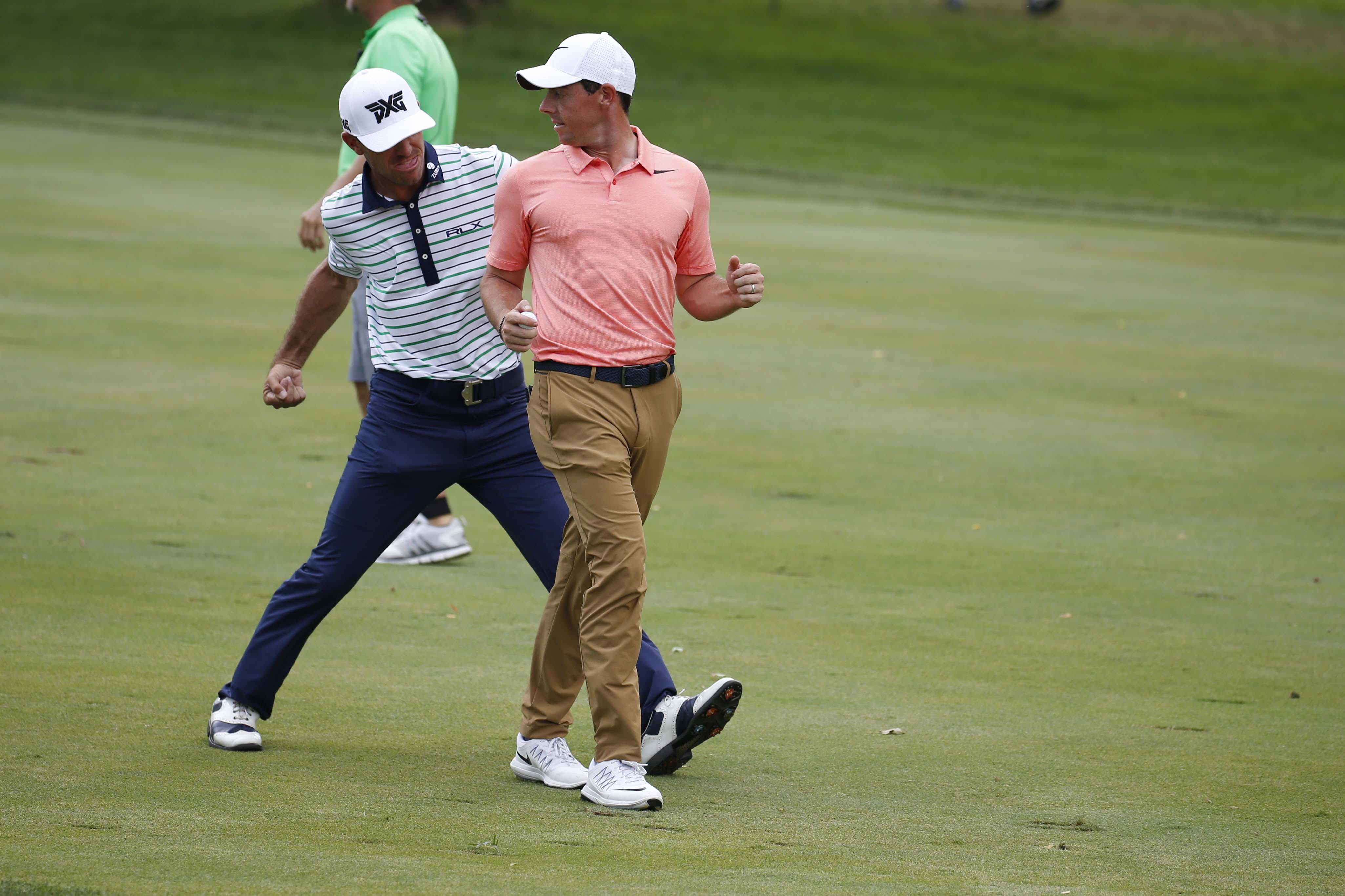 Billy Horschel and Rory McIlroy