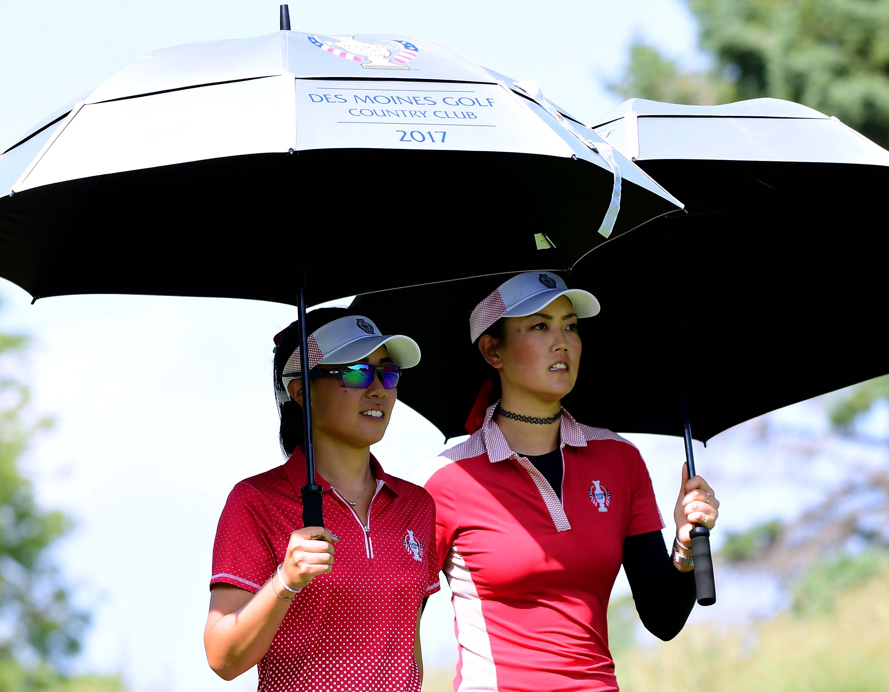 Danielle Kang and Michelle Wie
