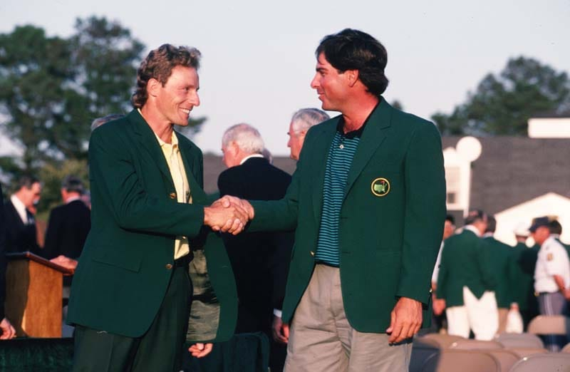 Bernhard Langer and Fred Couples