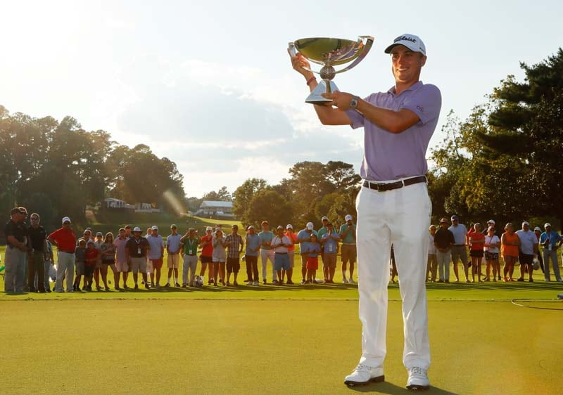 FedExCup champion: Justin Thomas