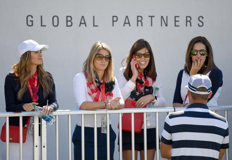 U.S. Team wives and girlfriends