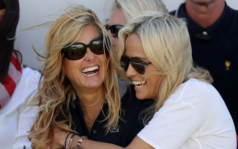 Tabitha Furyk and Amy Mickelson