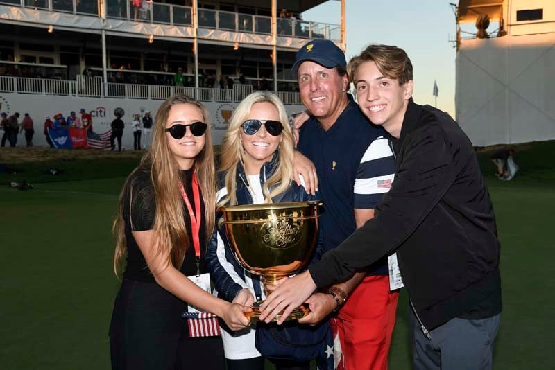 Phil, Amy, Evan and Sophia Mickelson