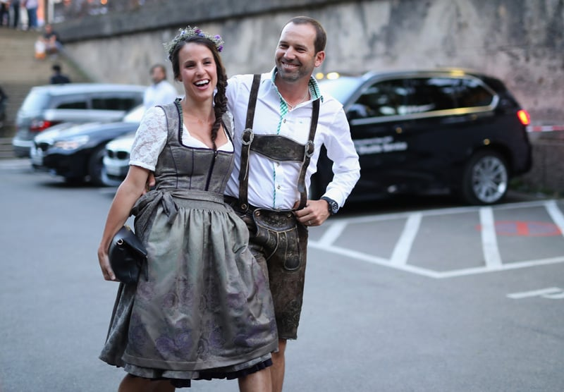 Angela Akins and Sergio Garcia