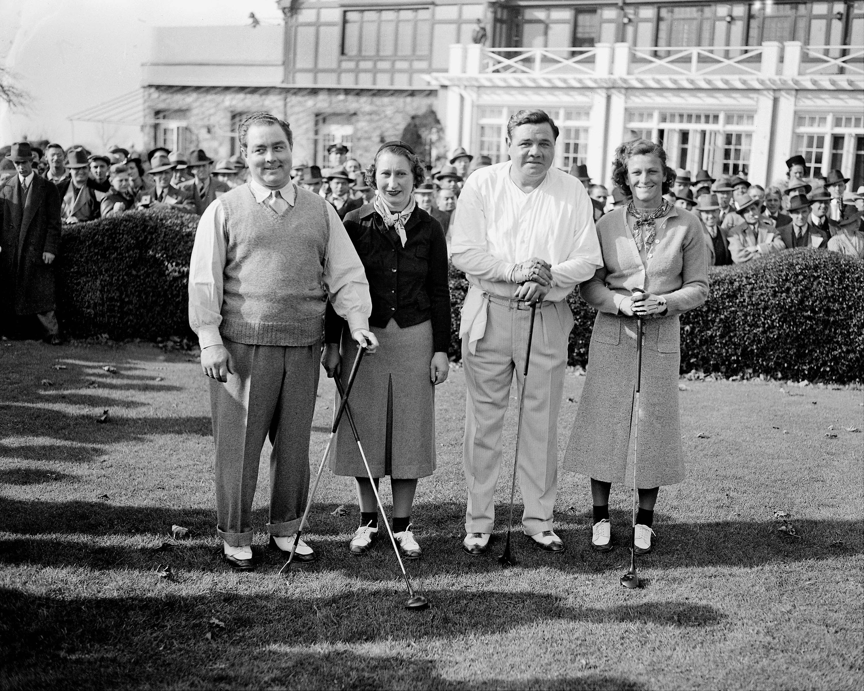 The foursome that drew the crowd