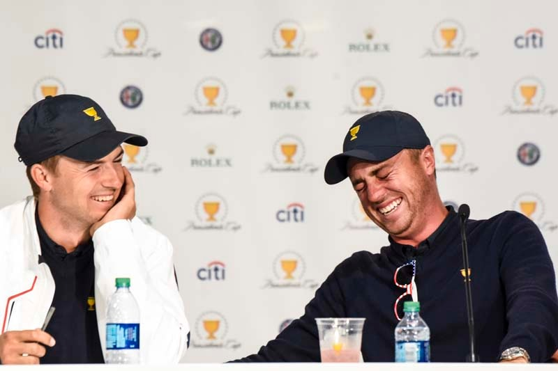 Spieth and Thomas star on Presidents Cup team